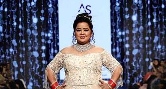 Comedian Bharti Singh just revealed what it's to be a plus-size bride