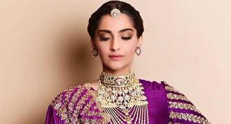 Why is Sonam Kapoor dressed as a bride?