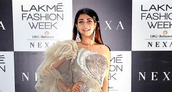 Pix: Tanishaa, Shamita glam up fashion week