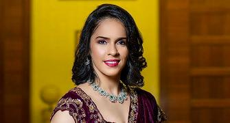 Gorgeous! Is this Saina's biggest fashion moment?