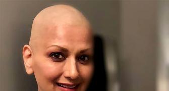 'I was scared!' Sonali Bendre on cancer