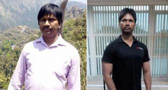 At 46, he fought high BP, fatty liver and lost 13 kg