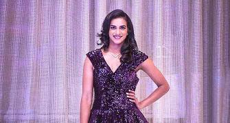 Stunner! Doesn't Sindhu look like a diva?