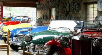 Have you seen a car collection like this?!
