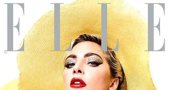 Lady Gaga rocks a bralette on mag cover