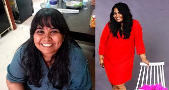 This plus sized comedienne lost 23 kg in a year