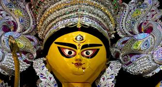 IN PIX: Durga pooja celebrations in Kolkata