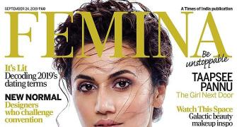 Tapsee Pannu oozes glam on Femina cover