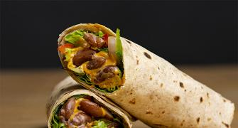 How to make Red Kidney Beans Tortila Wrap