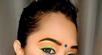 SEE: How to do tricolour makeup for I-Day