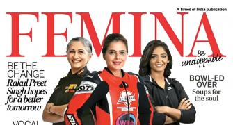 The pioneers on Femina's cover