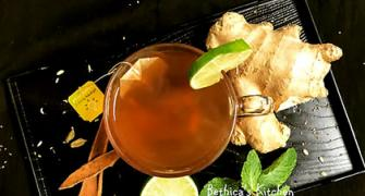 Winter Recipe: Masala Ginger Lime Tea