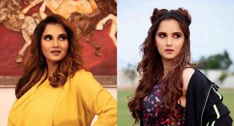 Revealed! How Sania lost 26 kilos in 4 months