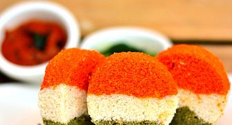Recipe: How to make a tricolour idli