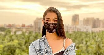 MASK UP! See how celebs stay safe in style