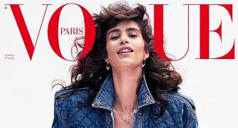 Argentine model dares to bare in denims