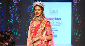 In pix: India's beauty queens scorch the ramp