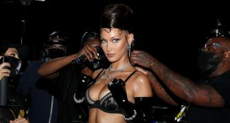 SEE: Rihanna's fashion party on the ramp