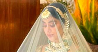 SEE: Janhvi looks breathtaking as a bride