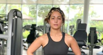 Hina Khan's 2021 FITNESS TIPS