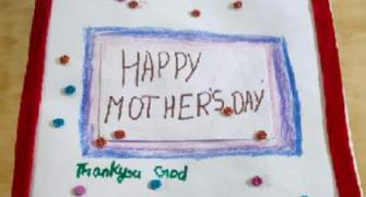 10-yr-olds make card for late Mom