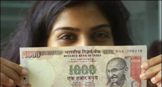 Which female personality would you like to see on Indian currency?