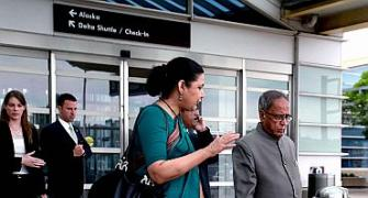 Pranab arrives in US for India-US economic talks