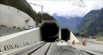 A trip across the world's LONGEST railway tunnel