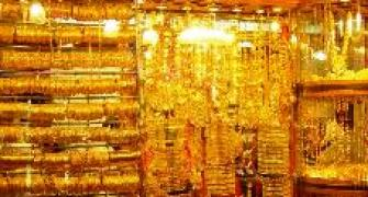 Acute shortage of gold in south India