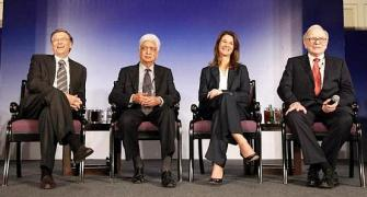 Premji gives half his stake in Wipro for charity
