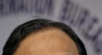 Rupee woes: Chidambaram meets PM, RBI Governor