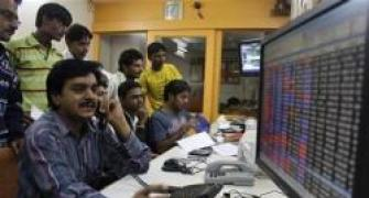 Sensex ends shy of 20,000; ITC, HDFC surge
