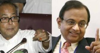 The rift between Chidambaram, Pranab Mukherjee grows wider