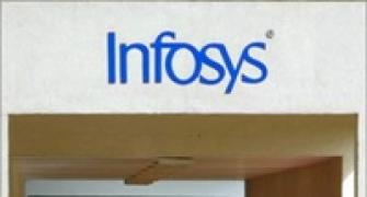 Infosys' shares end nearly 5% down as founders sell shares