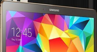 Samsung launches 'Tab S' to take on iPad