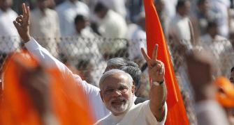 'Modi is a clean, determined man, ambitious of his place in history'