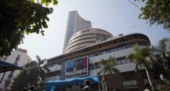 Sensex ends in green; GDP data awaited