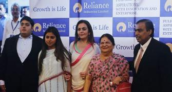 Next-gen Ambanis, Godrejs see their wealth rise as markets rally