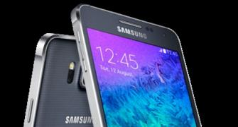 Stylish Galaxy Alpha: Most attractive phone from Samsung