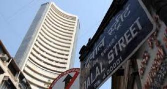 Markets end flat; DLF plunges 28% to record low