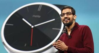 Pichai: Important to keep your dreams and follow them