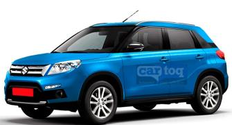 Revealed! Maruti's new compact SUV