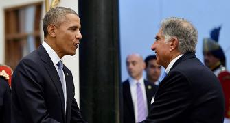 Indian CEOs' rendezvous with President Obama