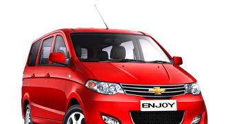 Chevrolet launches new version of Enjoy @ Rs 8.79 lakh