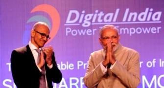 Microsoft to offer low-cost broadband in 5 lakh villages: Nadella