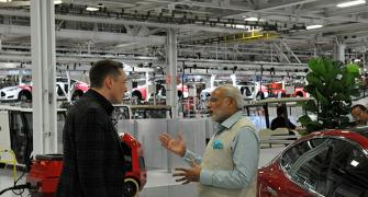 Modi@Tesla: Electric car takes a backseat to powerpacks