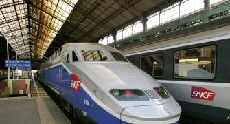 Suresh Prabhu's day out with high-speed train in Paris