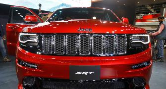 The long-awaited Chrysler Jeeps arrive in India