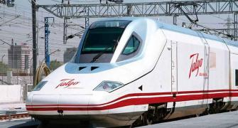 Talgo clocks 180 kmph with full coaches