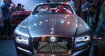 Rolls-Royce drives in Dawn at Rs 6.25 crore